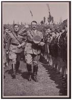 """DT- Reich (008272) Propaganda Sammelbild """"Adolf Hitler"""" Bild 151, Turm Und Gefechtsmast Der Admiral Scheer Von Der Back - Deutschland"""