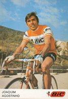 Cyclisme, Joaquim Agostinho, Signé - Cyclisme