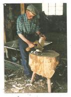 Laurière- L'ébauche D'un Sabot Le Dernier Sabotier  13/5/2000-(D.4261) - Lauriere