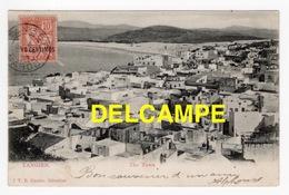 DD / MAROC / TANGER / VUE GENERALE / 1907 / AU DOS CACHET MARINE FRANÇAISE SERVICE À LA MER - Tanger