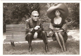 MARCELLO MASTROIANNI ET SOPHIA LOREN . PHOTO CONSTANT ANEE . 1997 - Acteurs