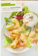 CP Pub. Recette 2019 - Tempura De Crevettes, Chantilly , Citron Vert - NEUVE - Grand Frais - Recipes (cooking)