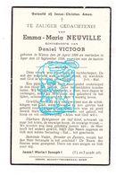 DP Emma M. Neuville ° Watou Poperinge 1899 † Ieper 1938 X Daniël Victoor - Images Religieuses