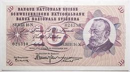 Suisse - 10 Francs - 1959 - PICK 45e.2 - TTB+ - Schweiz