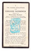 DP Eduard Neyrinck ° Geluveld 1860 † Beselare 1927 X ML. Bouckaert / Zonnebeke - Images Religieuses