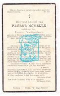 DP Petrus Noyelle ° Merkem Houthulst 1856 † 1937 X Leonie VanBecelaere - Images Religieuses