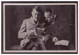 """DT- Reich (008311) Propaganda Sammelbild Adolf Hitler"""""""" Bild 71, Reichspressechef Dietrich Unterbreitet Dem Führer Press - Deutschland"""
