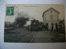 Carte Postale Ancienne Mauléon La Gare Du Tramway Numero 15 - Mauleon Licharre