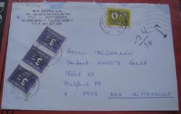 Nachporto / Nachgebühr 8983 Bad Mitterndorf Auf Briefstück Aus Belgien (Dottignies) - 1991-00 Storia Postale