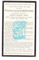 DP Polydoor L. Nevejans ° Ieper 1869 † 1932 X Alexia Celina Ghys - Images Religieuses