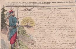 FRANCE 1915 CARTE DE FRANCHISE MILITAIRE - Marcophilie (Lettres)
