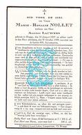 DP Marie Rosalie Nollet ° Brugge 1853 † 1939 X Albert Lauwers - Images Religieuses