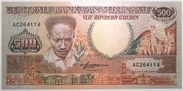 Surinam - 500 Gulden - 1988 - PICK 135b - NEUF - Surinam