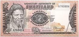 Swaziland - 2 Emalangeni - 1974 - PICK 2a - NEUF - Swaziland