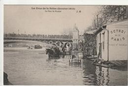 *** 75 ***  Crue De La Seine PARIS JANVIER 1910  Le Port St Nicolas  Neuve Excellent état - La Crecida Del Sena De 1910