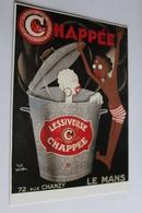 Reproduction D Affiche Publicitaire LESSIVEUSE CHAPPEE LE MANS - Publicité