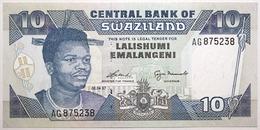 Swaziland - 10 Emalangeni - 1997 - PICK 24b - NEUF - Swaziland