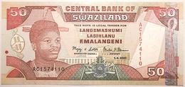 Swaziland - 50 Emalangeni - 2001 - PICK 31a - NEUF - Swaziland
