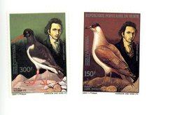 Benin 1985- Pie Et Autre Audubon YT 629/30***MNH - Passereaux