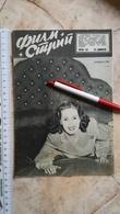 1954 FILM STRIP MOVIE ENTERTAINMENT MAGAZINE NEWS NEWSPAPERS YUGOSLAVIA Bette Davis Patricia Roc TINO ROSSI FRANCE - Boeken, Tijdschriften, Stripverhalen