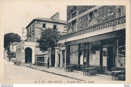 92) BELLEVUE : Grande Rue - Le Tabac - Autres Communes