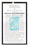 DP Sidonie Notebaert / Fache ° Ieper 1858 † 1928 - Images Religieuses