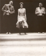 "8e FESTIVAL THEATRES EUROPE De STRASBOURG . """"MUSIC-HALL"""" Jean-Luc LAGARCE / Alain FROMAGER . Photo O. ROLLER - Théâtre"