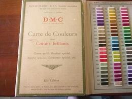DMC Carte De Couleurs Pour Cotons Brillants Ancien - Altri
