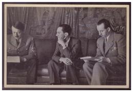 """DT- Reich (008362) Propaganda Sammelbild Adolf Hitler"""" Bild 72, In Der Reichskanzlei - Briefe U. Dokumente"""
