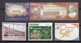 Filippine Philippines Philippinen Pilipinas 2007 Post Office 1926 + Other Incomplete Sets, 5 Stamps - Used (see Photo) - Filippine