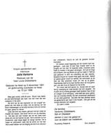 J.VANTORRE °HEIST 1901 +1996  (L.DOBBELAERE) - Images Religieuses