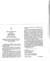 J.VANTORRE °HEIST 1901 +1996  (L.DOBBELAERE) - Santini