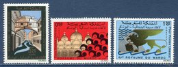 Maroc - YT N° 631 à 633 - Neuf Sans Charnière - 1972 - Morocco (1956-...)