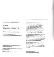 M.DOBBELS °BRUGGE 1907 +ZEEBRUGGE 1994 (F.REYZERHOVE) - Images Religieuses