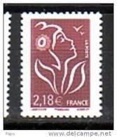 2008-N°4158** MARIANNE DE LAMOUCHE - Neufs