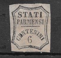 Parme Taxe Pour Journaux  N° 1a Neuf ( * )  à Saisir En L'état Voir Scans Braderie Classiques Du Monde Cote 75,00  ! ! ! - Parma