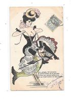 11295 - CPA Fantaisie, Coquine, Femme Seins Nus à Cheval , - 1900-1949