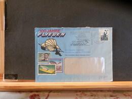 84/841    LETTRE ALLEMAGNE - Zeppelins