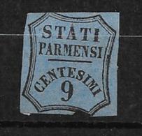 Parme Taxe Pour Journaux  N° 2a Neuf ( * )  à Saisir En L'état Voir Scans Braderie Classiques Du Monde Cote 50,00  ! ! ! - Parma
