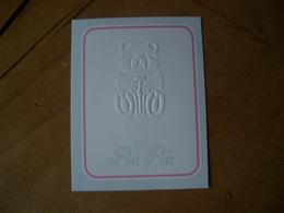 Carte Piu Piu - Cartes Parfumées
