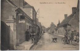 37 COURCELLES  La Grande Rue (très Animée) - Altri Comuni