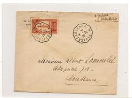 1927 ENVELOPPE DE CASABLANCA DU 19/4/27 - Marokko (1891-1956)