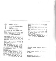 E.DHONDT °HEIST 1909 +BLANKENBERGE 1986 (E.DOBBELAERE) - Images Religieuses