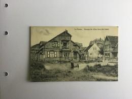 DE PANNE  1912  GROUPE DE VILLAS DANS LES DUNES - De Panne