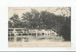 JURANCON 367 PRES PAU CHUTES DU NEEZ AU PONT NOIR 1912 - Jurancon