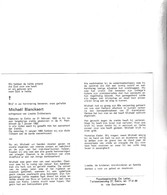 M.BLANCKAERT °EEKLO 1932 +1992 (L.DOBBELAERE) - Images Religieuses