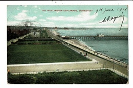 CPA-Carte Postale-Royaume Uni- Lowestoft - The Wellington Esplanade -1908 VM10179 - Lowestoft