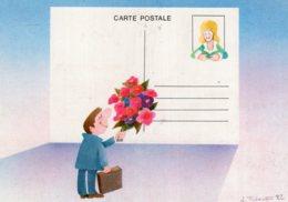 "B62343 CPM Série "" Les PTT "" Illustrateur J. Tuloup - Künstlerkarten"