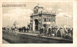 INDIA // INDE.  Maharaja Jind Camp Coronation Durbar Delhi 1911 - India