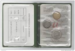 NUMISMATIC SPANISH SET - 3 COINS - 1975 * 1977 - PROOF - JUAN CARLOS I - Madrid Mint  NUMISMATIQUE  NUMISMATIK - Sets Sin Usar &  Sets De Prueba